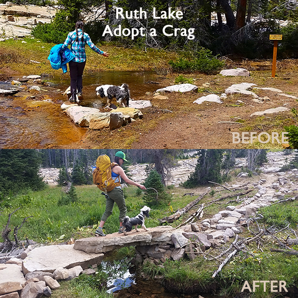 ruth lake before after bridge