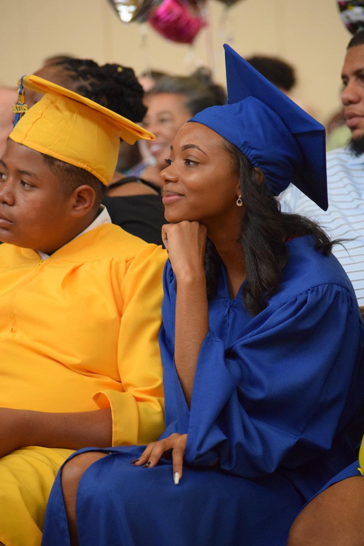 Juliana at her Graduation