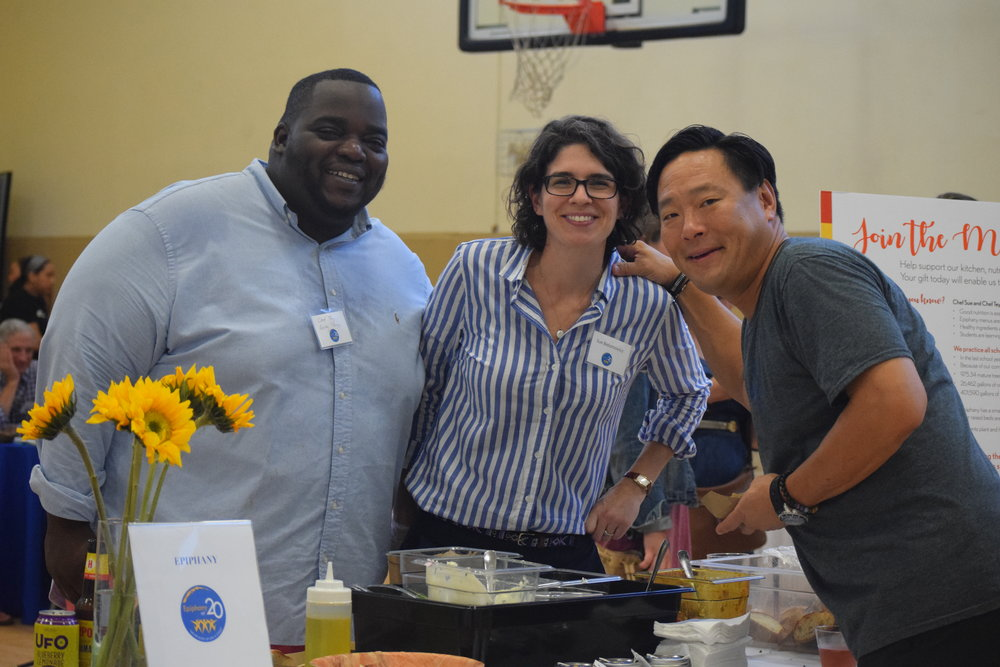 Chef Tey, Chef Sue and Chef Ming