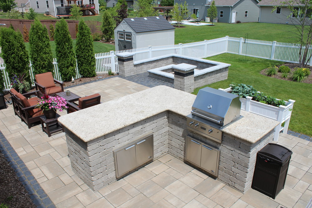 Outdoor Kitchen in Kenosha, WI
