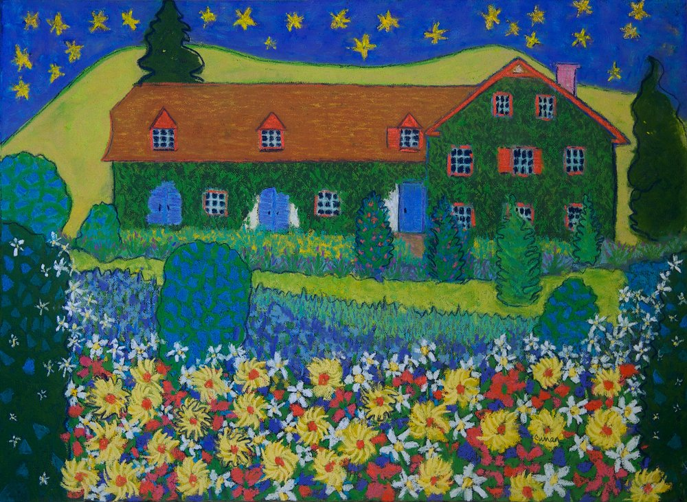 Cotswold Cottage* 29X22