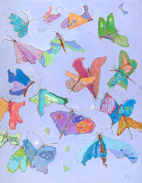 Butterfly II  54x42
