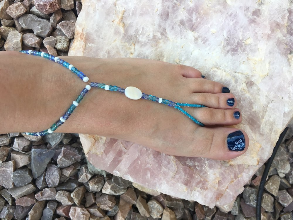 Custom Color and Size Barefoot Sandals