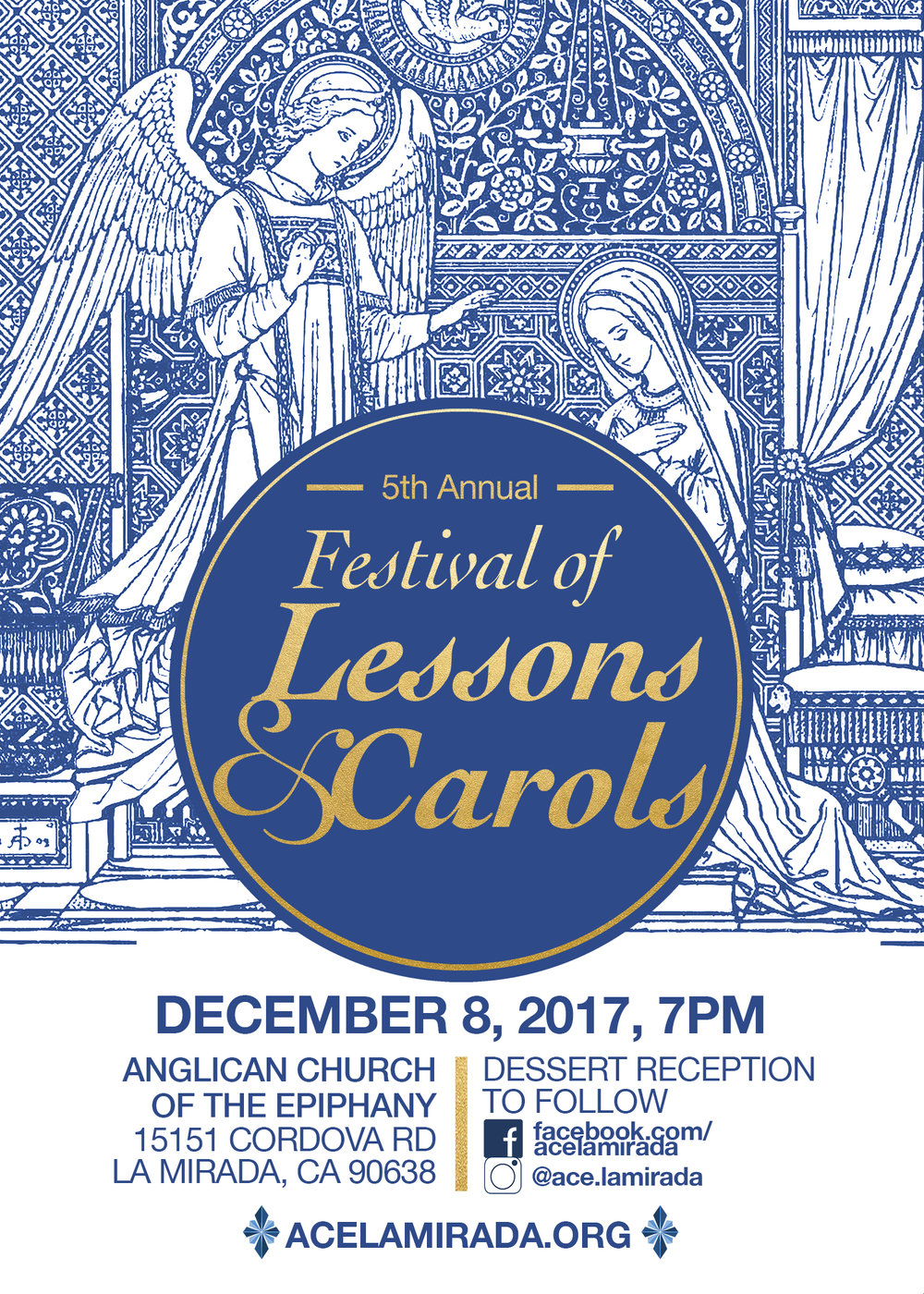 Join us for Lessons and Carols! - Friday, December 8 at 7:00pm