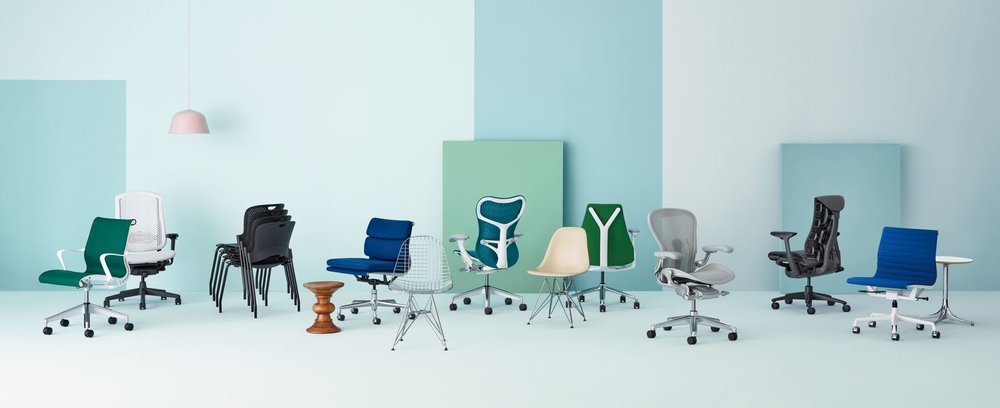 Herman Miller Seating Photography