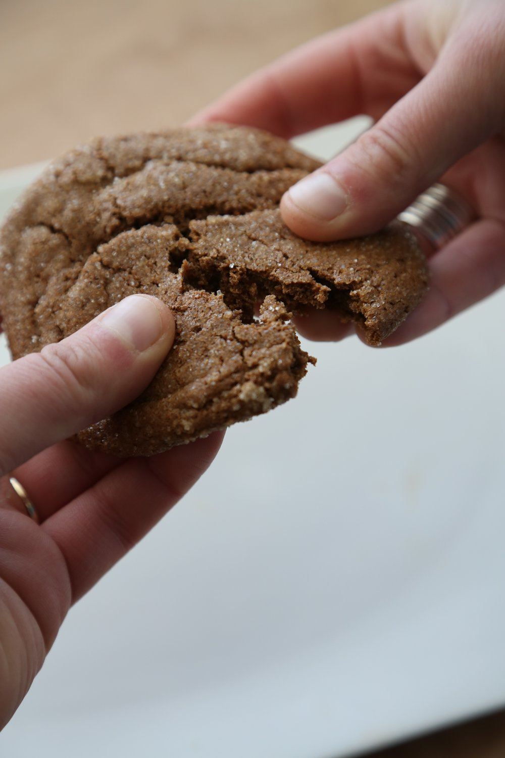 Ginger Cookies - Soft, chewey and gluten free. What more do you need?