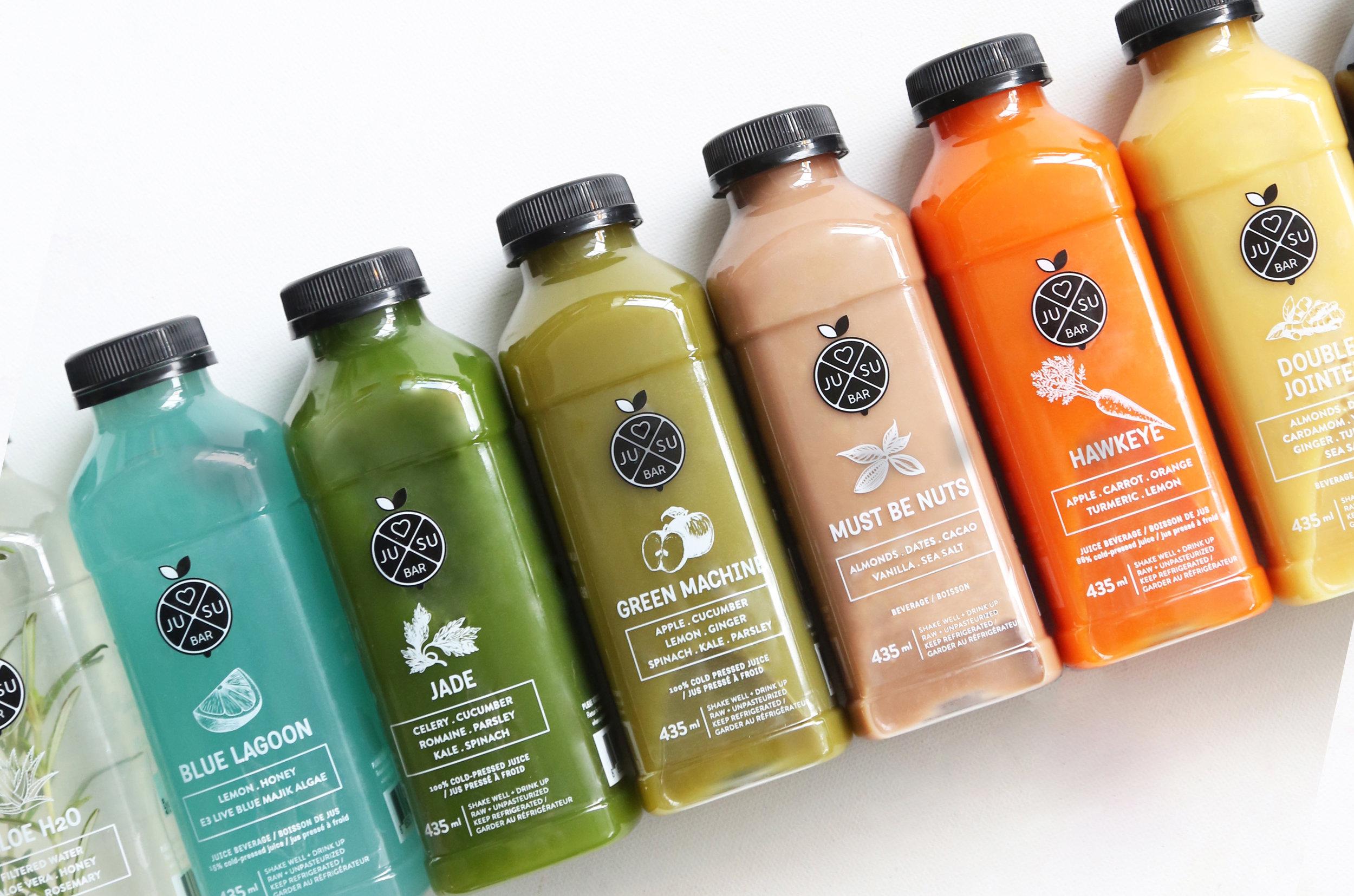 Jusu Bars 100 Organic Juice Bar