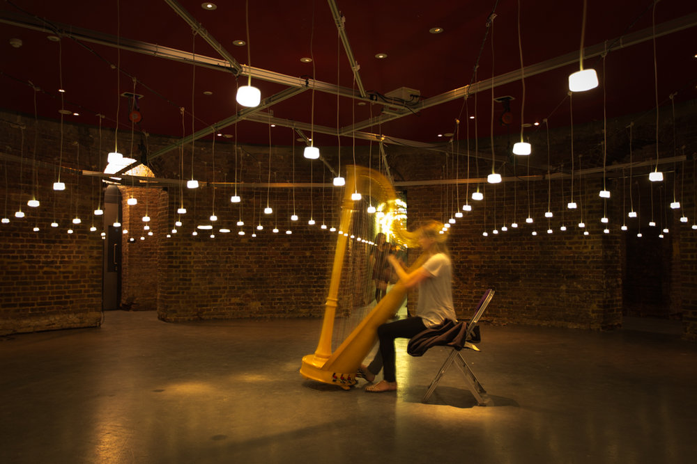 Helmholtz  – I helped integrate iBeacons into this light installation at The Roundhouse