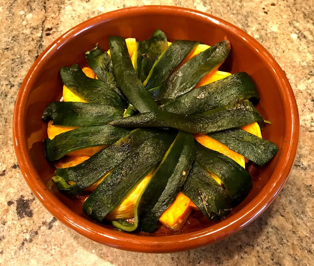 Pumpkin and peppers in Cazuela.jpg