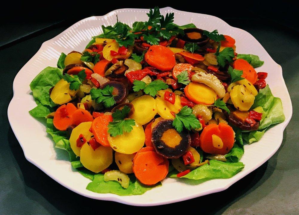Carrot salad platter 1.jpg
