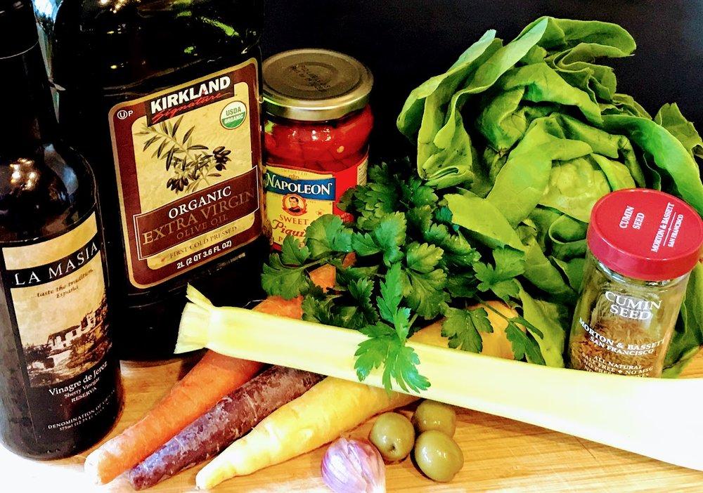 Carrot salad ingredients.jpg