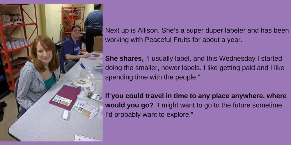First up is Lindsey. She's our super duper shipping specialist. Her job is to make sure the right snacks go in the correct envelopes. Here's what she had to say about being on our team- How did you get started (1).jpg