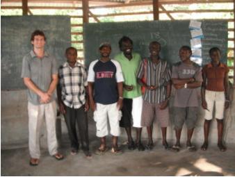 An English class in Suriname