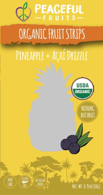 Ingredients: Organic Pineapple, Organic Pear, Organic Apple, Organic Acai, Organic Dates