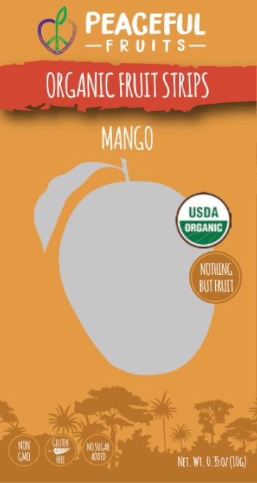 Ingredients: Organic Apple, Organic Pear, Organic Mango, Organic Lemon Juice