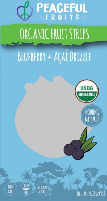Ingredients: Organic Blueberry, Organic Orange Juice, Organic Acai, Organic Apple, Organic Dates