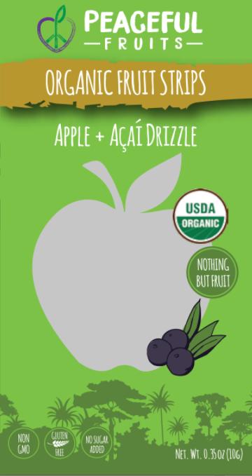 Ingredients: Organic Apple, Organic Pear, Organic Acai, Organic Dates, Organic Lemon Juice