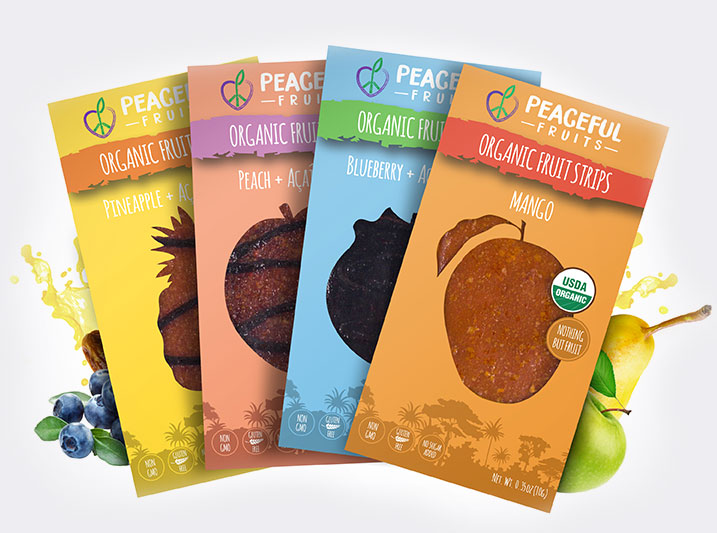 Try 4 flavors with our AJ Assortment: Pineapple, Peach, and Blueberry + Acai Drizzle, and Mango!