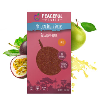 Healthy Non-GMO Passionfruit Fruit Leather