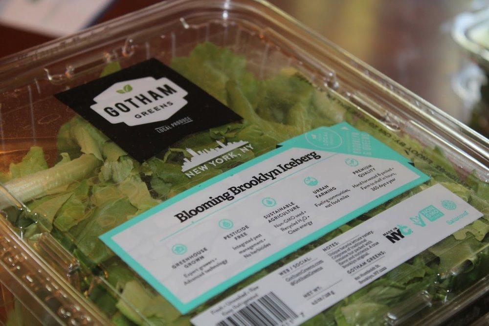 Gotham Greens Blooming Brooklyn Iceberg