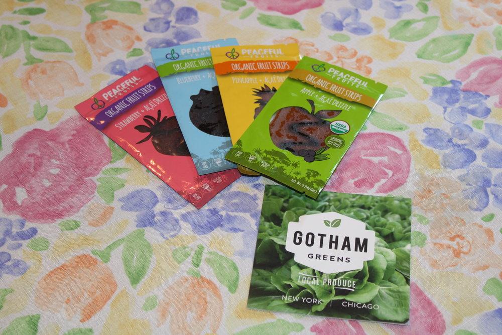 Peaceful Fruits and Gotham Greens