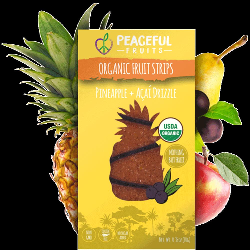 Pineapple + Acai Fruit Snacks