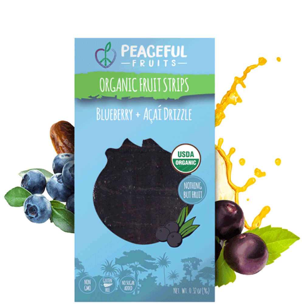 Blueberry + Acai Snacks
