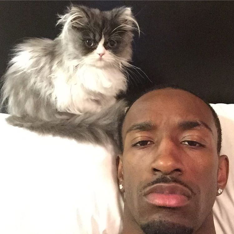 Mister Quackers with owner Russ Smith / Image Credit: ESPN