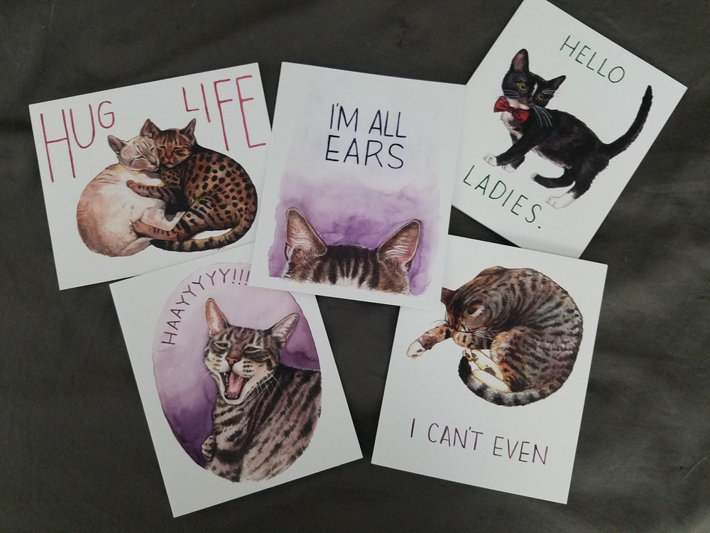 claws-for-celebration-notecards-megan-lynn-kott-that-cat-blog