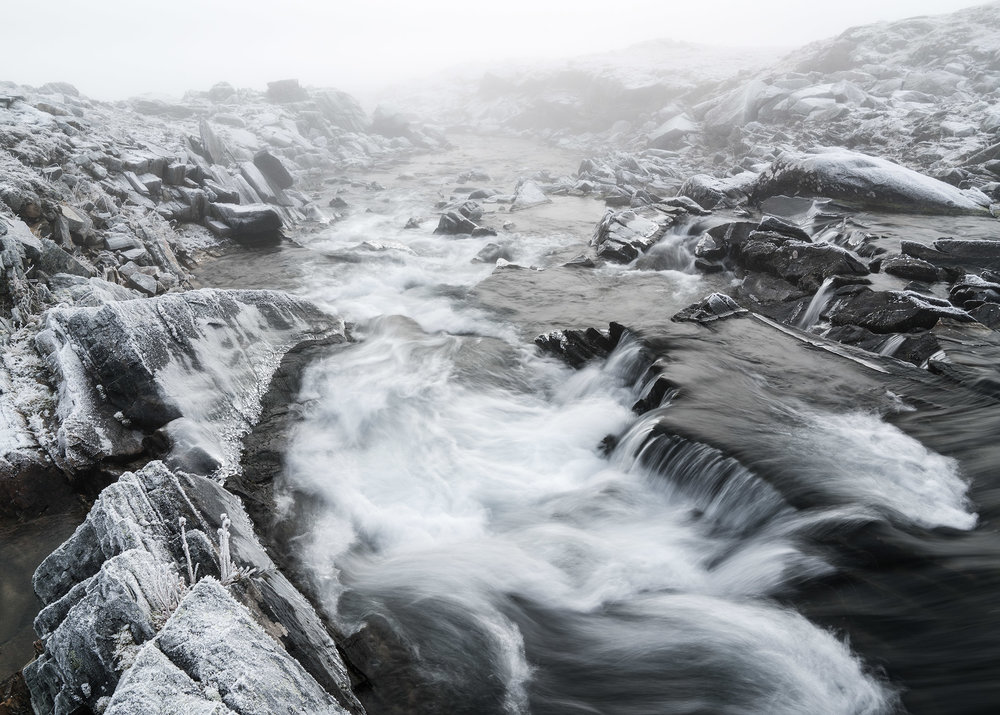Frosty Stream – Sarek National Park