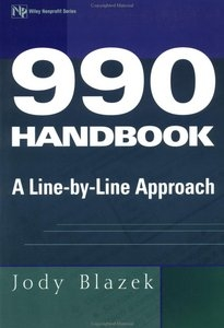 990 Handbook: A line by Line Approach - By Jody Blazek