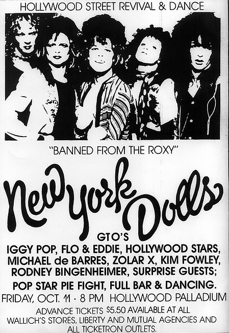 'Banned from the Roxy' (1974)