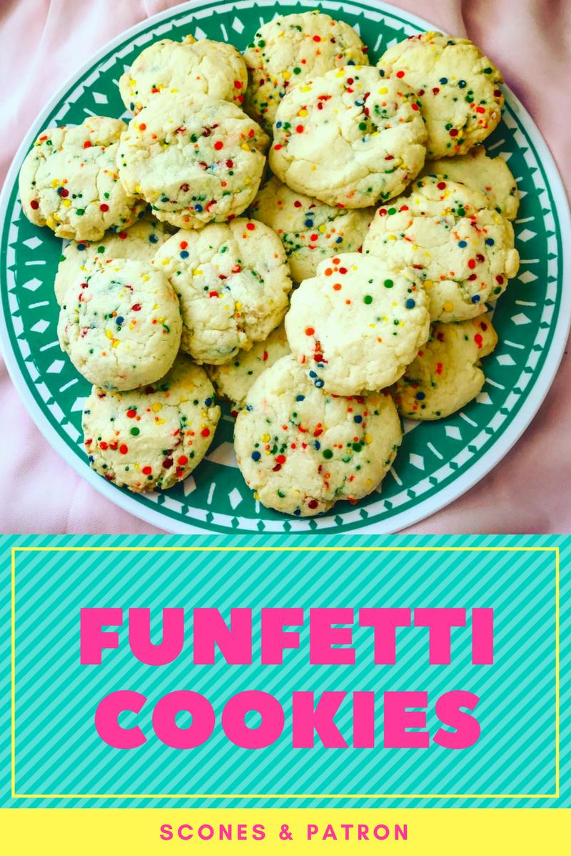 Funfetti Cookies — Scones & Patron