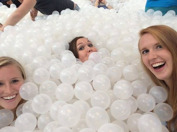 ...and giant ball pits #adulting
