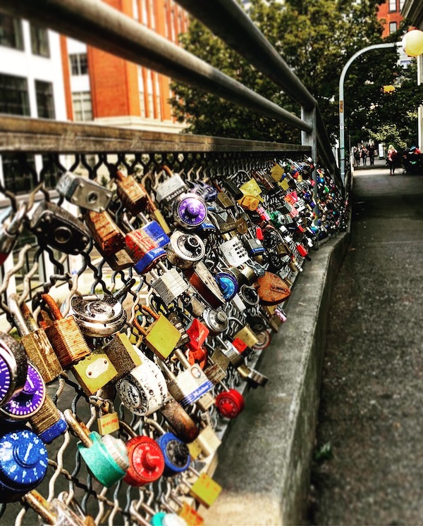 Love Lock Bridge, Pike Place Market
