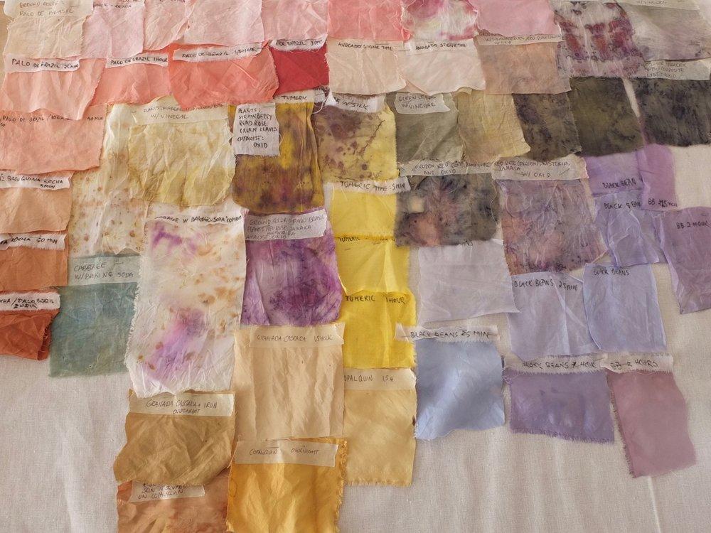 Image: Color samples / Photo Credit: Lise Bjørne Linnert