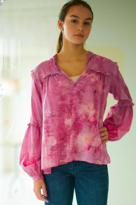 COTTON blouse —  no.1 of 18 —  SIZE s