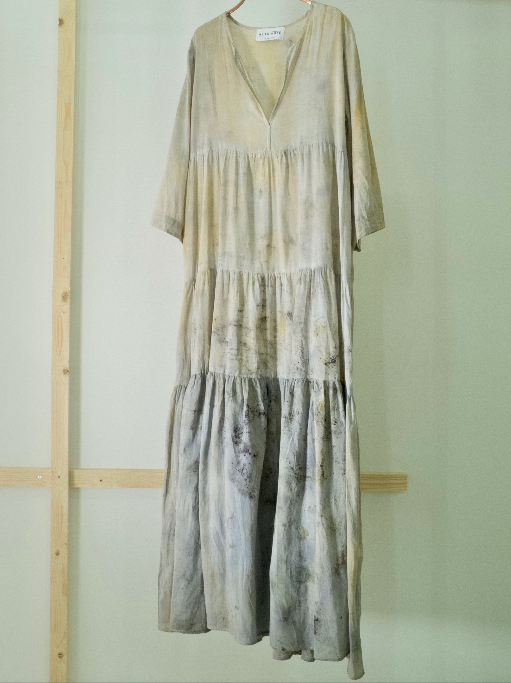 COTTON DRESS — NO  . 14 of 60 —  SIZE M