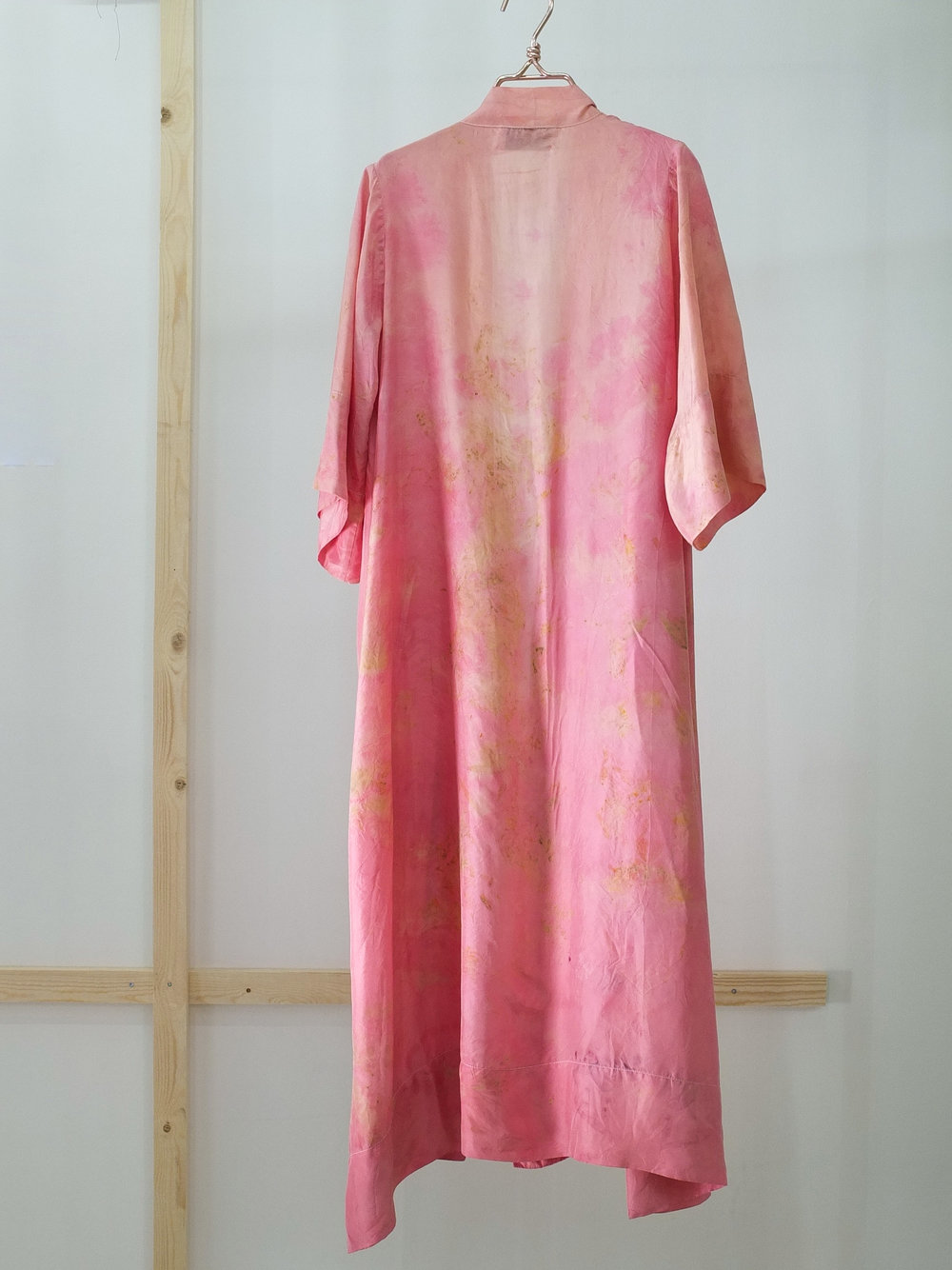 SILK ROBE · No. 14 OF 33 · SIZE MEDIUM