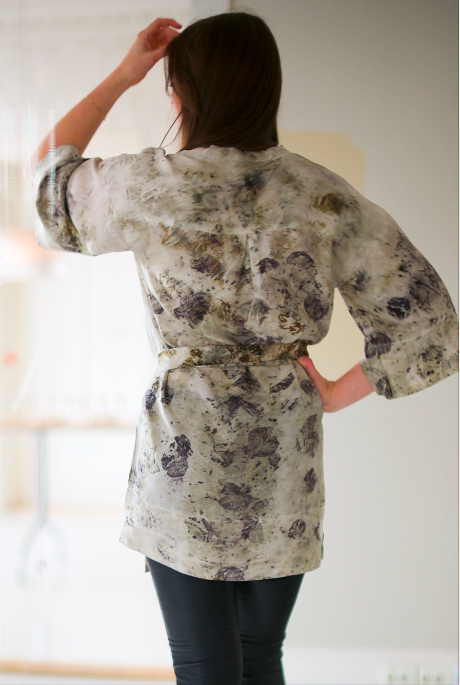 SILK TUNIC — NO. 2  of 16 —  SIZE S