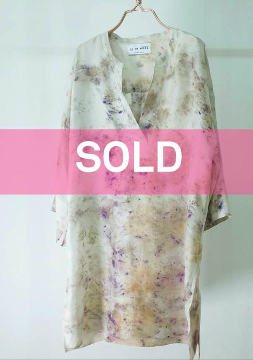 Silk tunic—  no.8 of 16 —  SIZE L