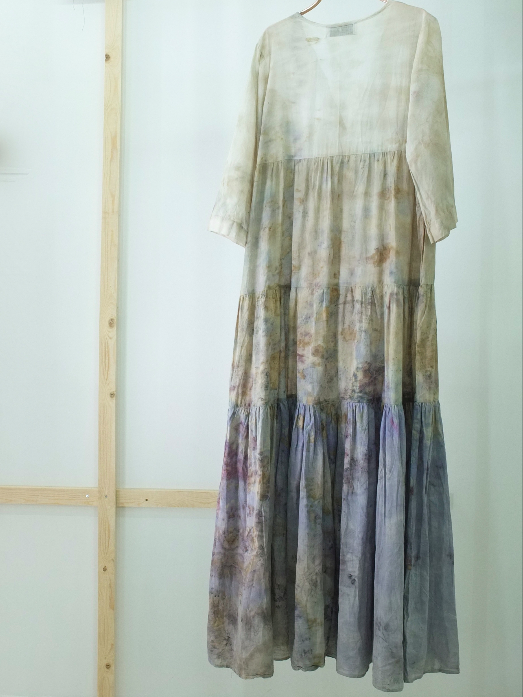 ** NEW ARRIVAL ** — COTTON DRESS — NO  . 22 OF 60 —  SIZE M