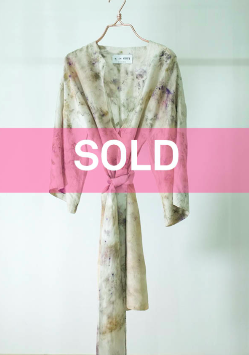 ** NEW ARRIVAL ** — SILK TUNIC — NO  . 14 OF 16 —  SIZE M