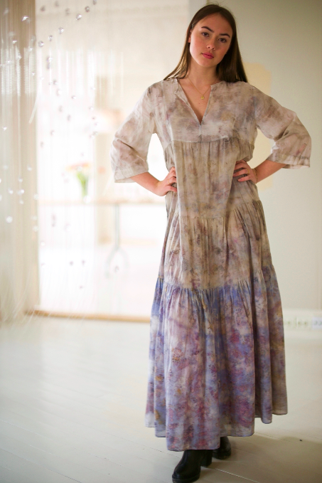 ** NEW ARRIVAL ** — COTTON DRESS — NO  . 10 OF 60 —  SIZE M