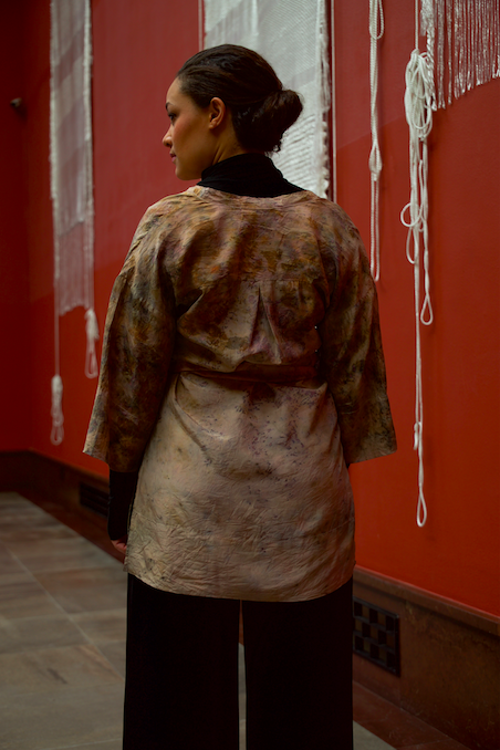 ** NEW ARRIVAL ** — SILK TUNIC — NO  . 11 OF 16 —  SIZE S