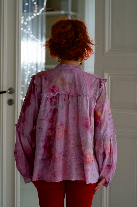 ** NEW ARRIVAL ** — COTTON BLOUSE — NO  . 17 of 18 —  SIZE S