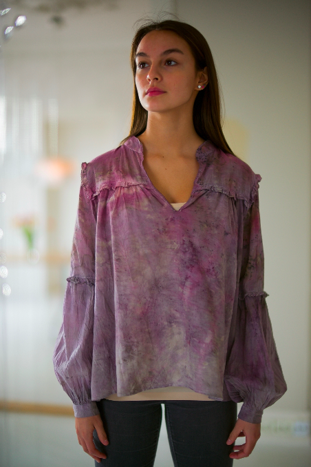 COTTON BLOUSE · No  . 18 OF 18 ·  SIZE SMALL