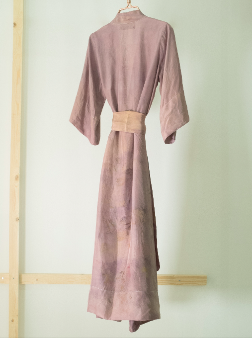 ** NEW ARRIVAL ** — SILK ROBE  — NO  . 27 OF 33 —  SIZE S