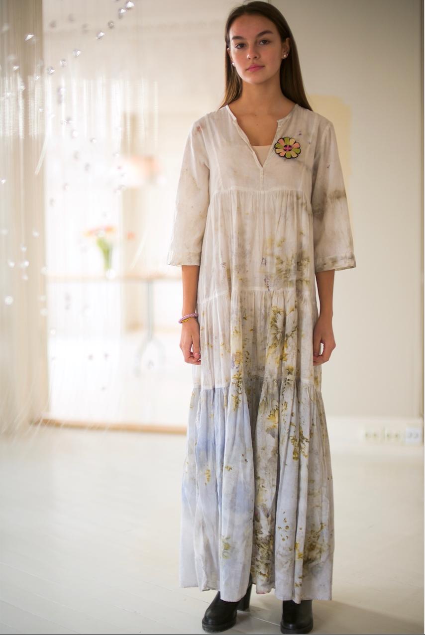 COTTON DRESS — NO. 4 OF 60 — SIZE S
