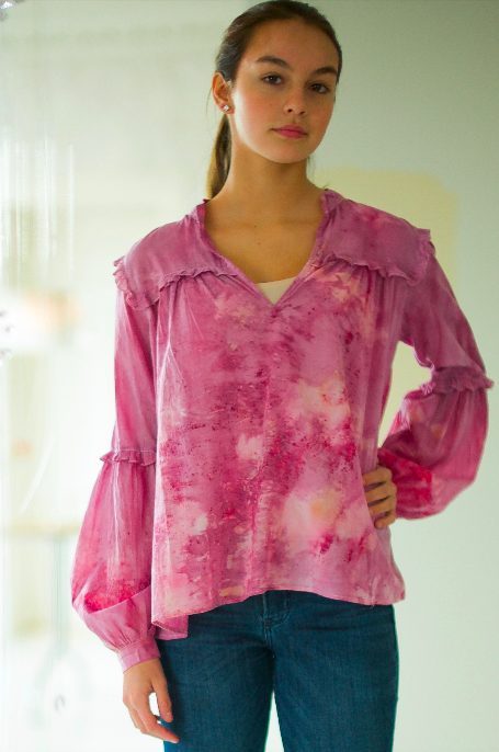 COTTON BLOUSE · No  . 1 OF 18 ·  SIZE SMALL